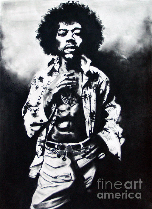 Voodoo Child Print by Kim Chigi