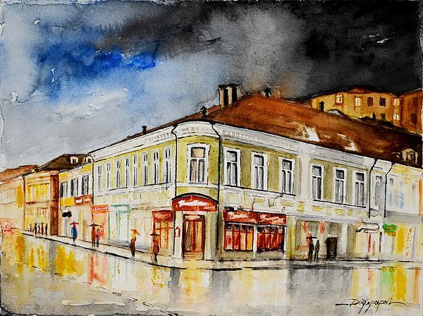 W 62 Moscow Print by Dogan Soysal