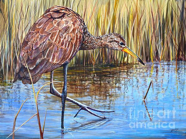 Wailing Bird Print by AnnaJo Vahle