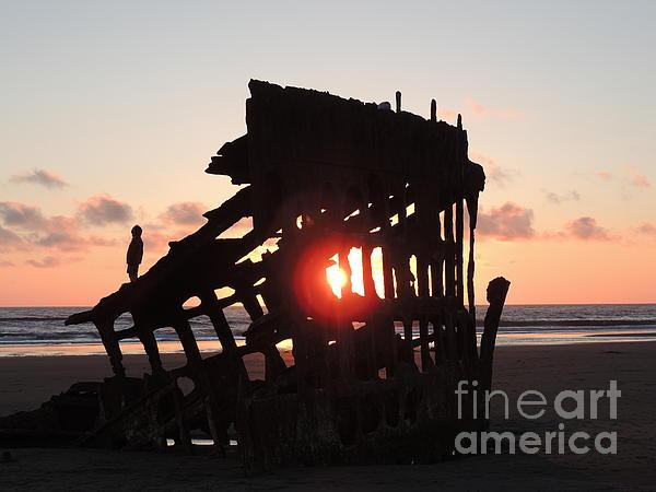 J J - Waiting for the Sunset - Peter Skene Ogden
