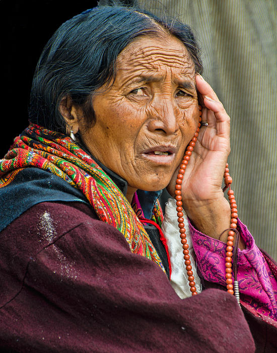 Waiting In Dharamsala For The Dalai Lama Print by Don Schwartz
