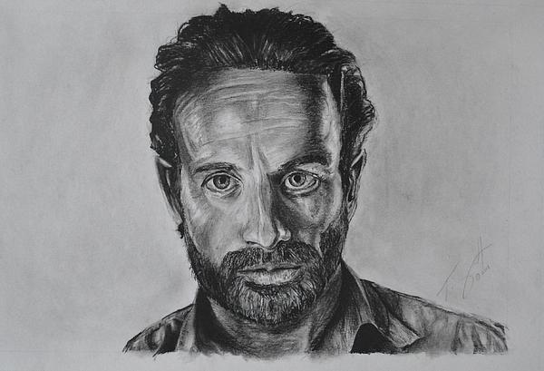 how to draw the walking dead