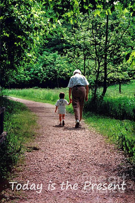 Karen Adams - Walking with Grandma