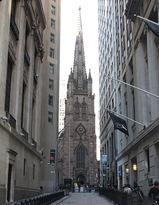 John Telfer - Wall Street leading to Trinity Church