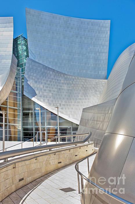 Walt Disney Concert Hall Los Angeles Ca 2 Print by David  Zanzinger