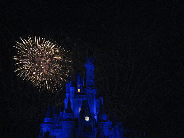 Walt Disney World Resort - Magic Kingdom - 121233 Print by DC Photographer