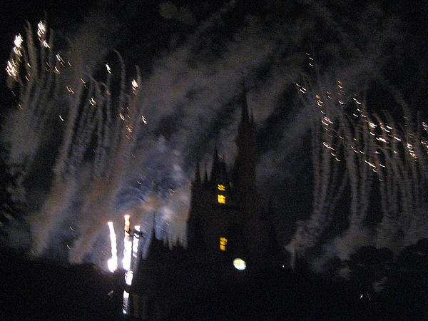 Walt Disney World Resort - Magic Kingdom - 121289 Print by DC Photographer