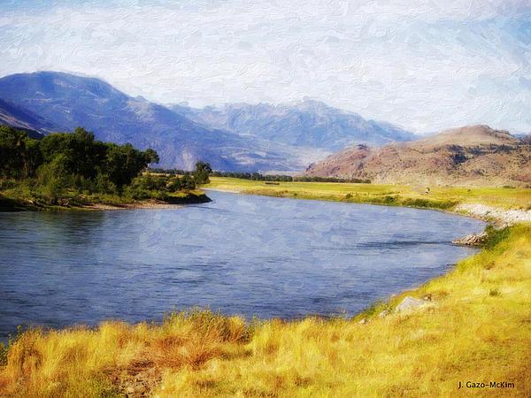 Jo-Anne Gazo-McKim - Wandering Water