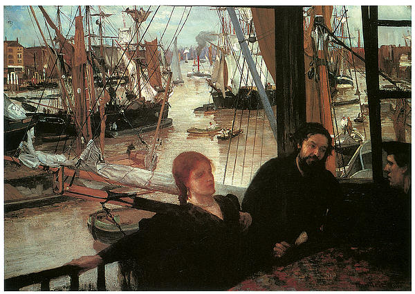 Wapping Print by James Abbott McNeill Whistler