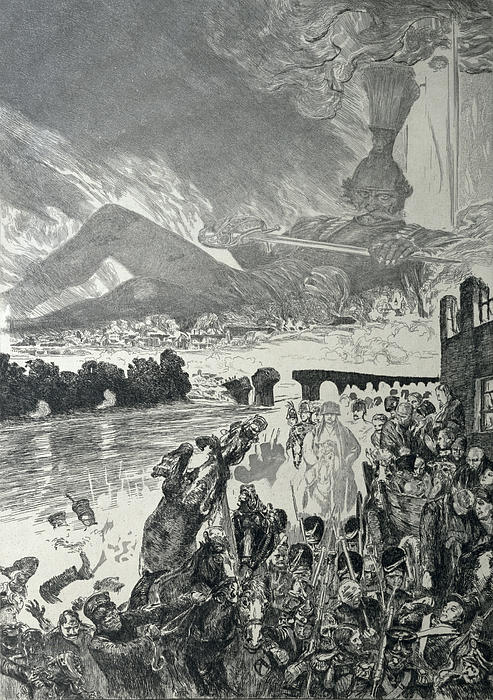 War 1910 Print by Max Klinger