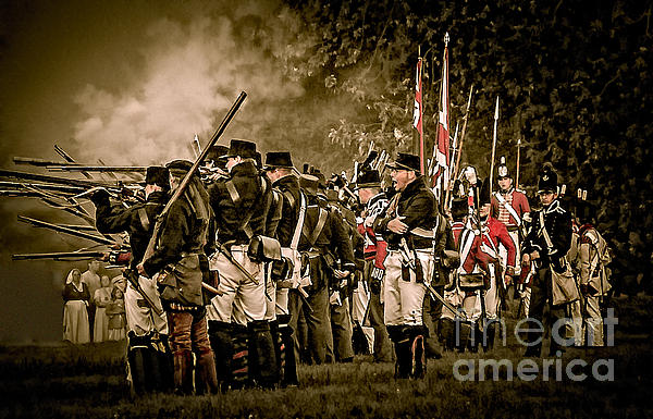 War Of 1812 Print by Bianca Nadeau