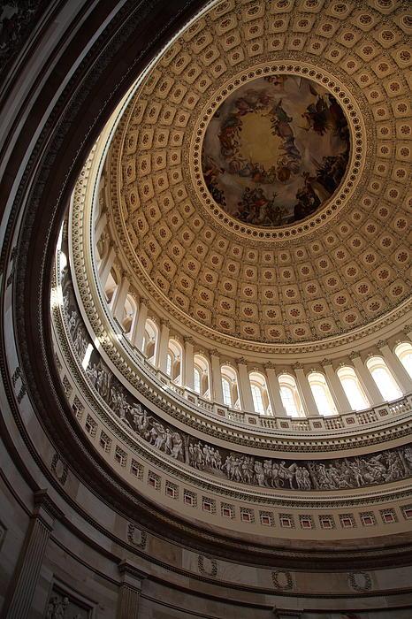 Washington Dc - Us Capitol - 011315 Print by DC Photographer