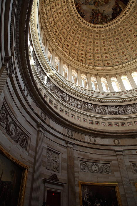 Washington Dc - Us Capitol - 01138 Print by DC Photographer