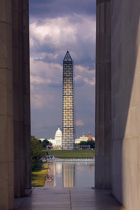 Stuart Litoff - Washington Monument and Capitol 2