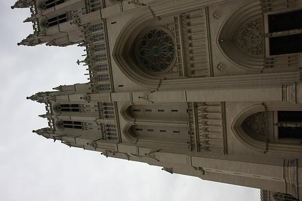 Washington National Cathedral - Washington Dc - 011354 Print by DC Photographer