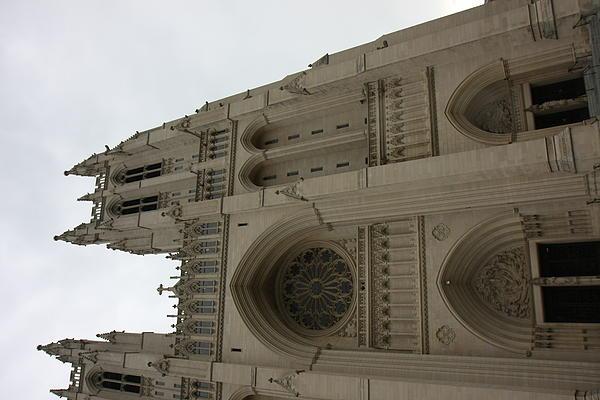 Washington National Cathedral - Washington Dc - 011355 Print by DC Photographer