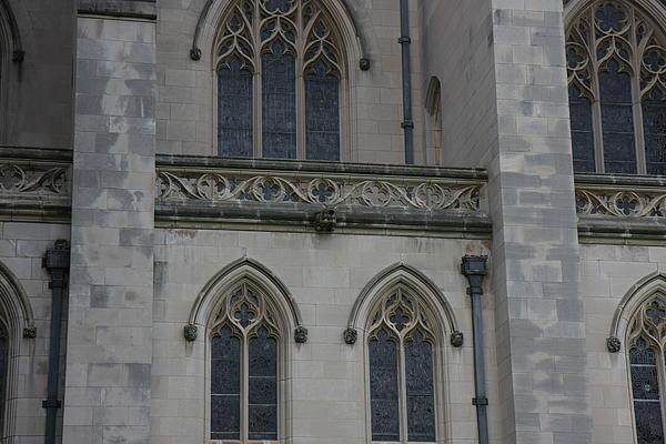 Washington National Cathedral - Washington Dc - 011358 Print by DC Photographer