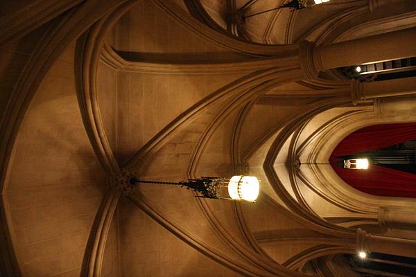 Washington National Cathedral - Washington Dc - 011374 Print by DC Photographer