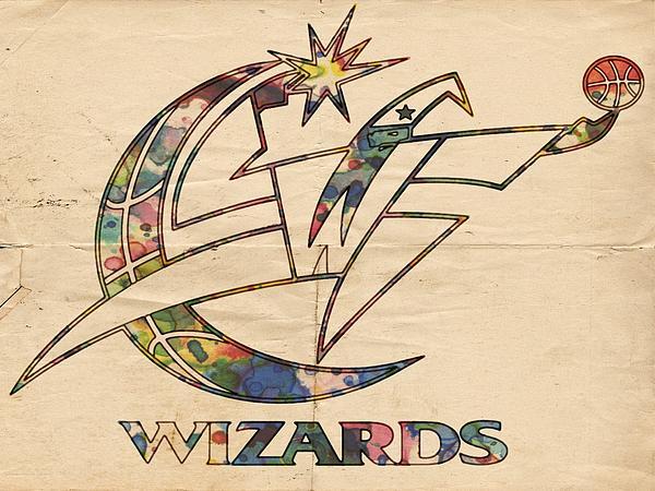Washington Wizards Poster Art Print by Florian Rodarte