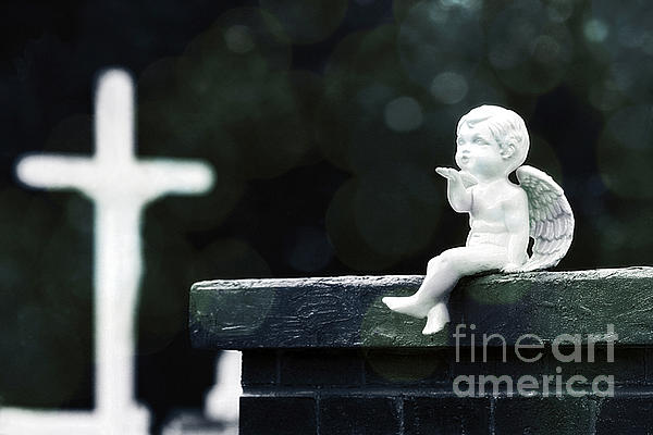 Watching Over Them Print by Trish Mistric