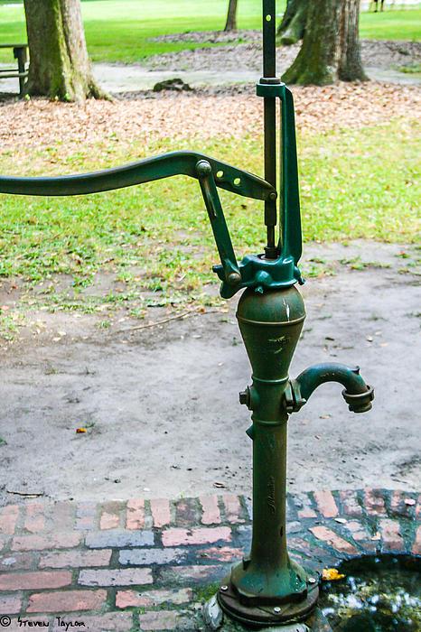 Water Pump  Print by Steven  Taylor