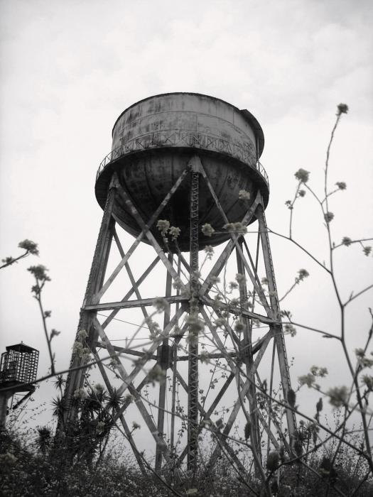Water Tower Print by Mike Grubb