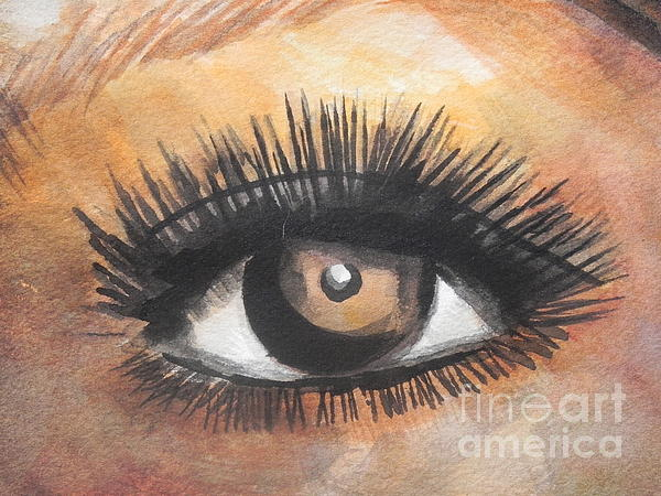 Chrisann Ellis - Watercolor Eye