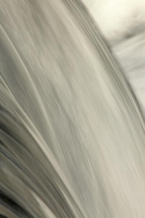 Waterfall Abstract Print by Karol  Livote