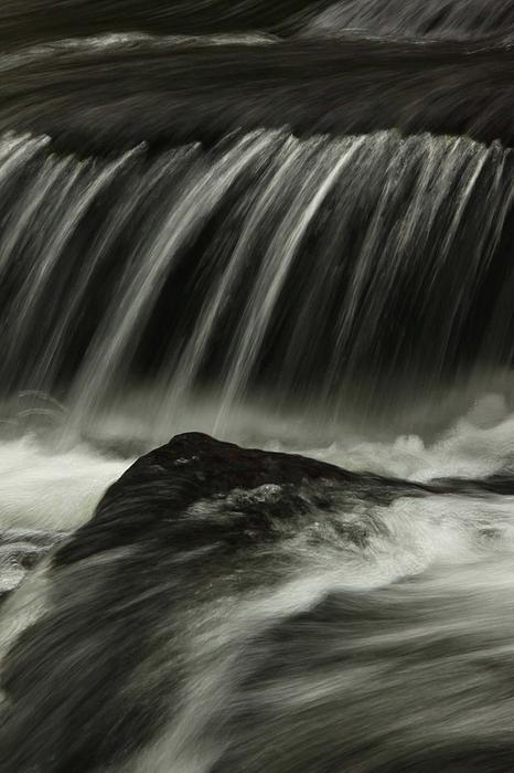 Waterfall Print by AR Annahita
