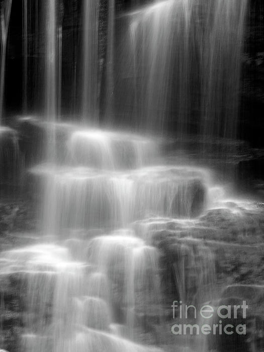 Waterfall Print by Tony Cordoza