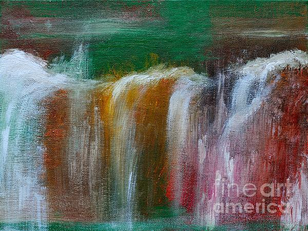 Waterfalls Print by Lars Tuchel