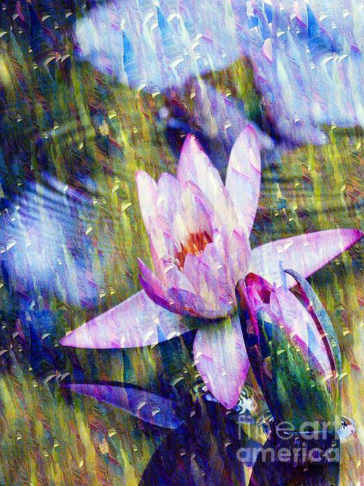 Waterlily Paradise Print by Carol F Austin