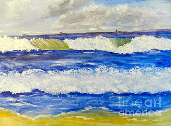 Pamela  Meredith - Wave at Bulli Beach