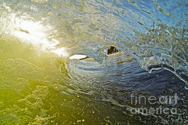 Wave Cave Print by Paul Topp
