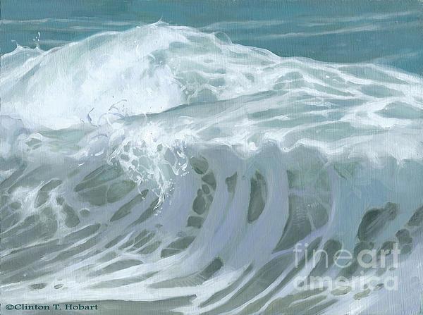 Wave X Print by Clinton Hobart