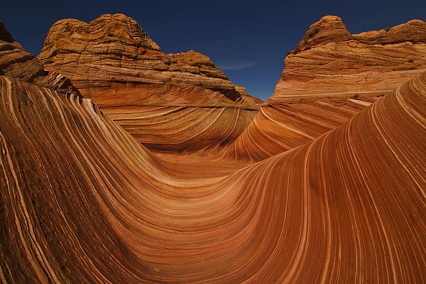 Waves Of Sandstone Print by Kenan Sipilovic