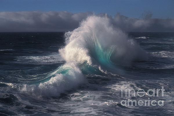 Waves Print by Ron Sanford