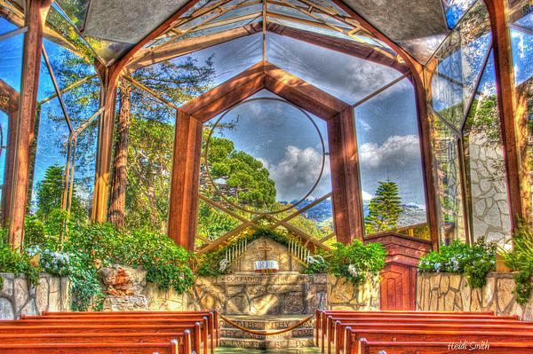 Wayfarers Chapel Print by Heidi Smith