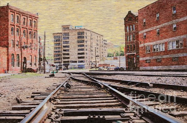 Wb - West Bottoms - Kcmo Print by Liane Wright