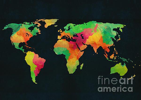 We Are Colorful Print by Budi Satria Kwan