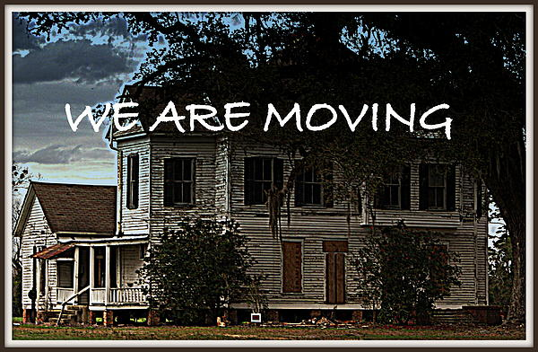 Sherry Gombert - We Are Moving-announcement card