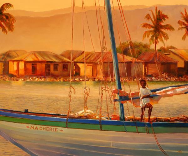 We Be Sailing Print by Sue  Darius