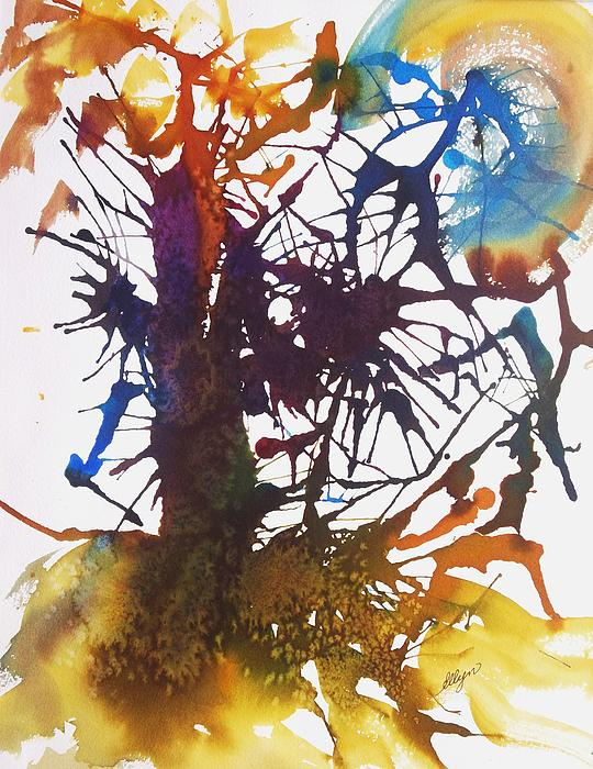 Web Of Life Print by Ellen Levinson