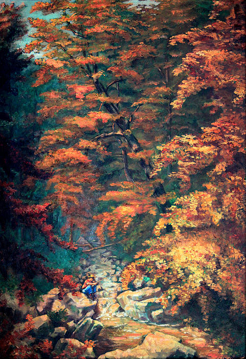 Webster's Falls Print by Otto Werner