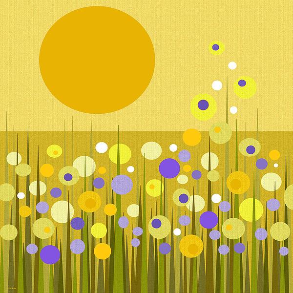 Weeds Print by Val Arie