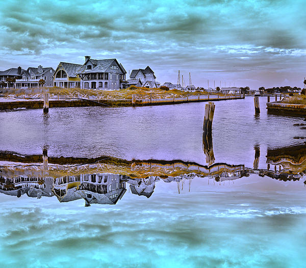 Welcome To Bald Head Island II Print by Betsy A  Cutler