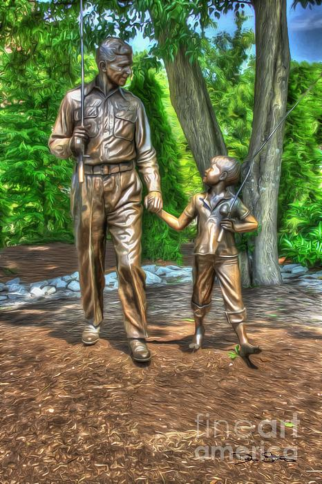 Welcome To Mayberry Print by Dan Stone