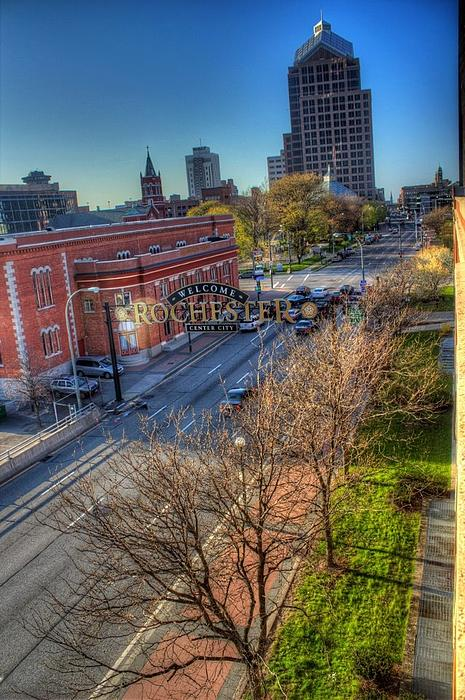 Welcome To Rochester Print by Tim Buisman