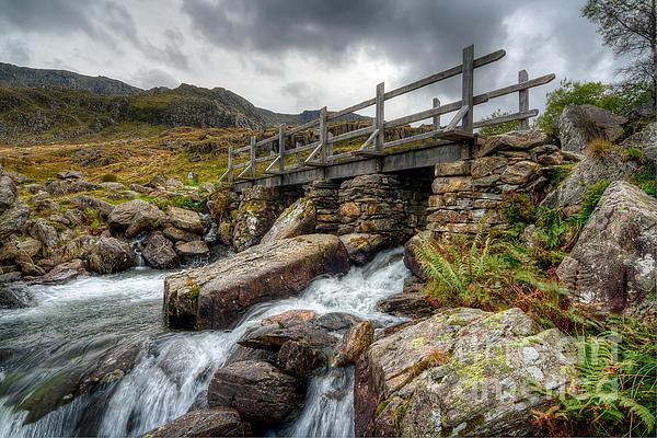 Welsh Bridge Print by Adrian Evans