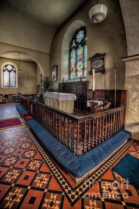 Welsh Chapel Print by Adrian Evans